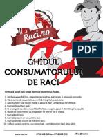 Ghidul Consumatorului de Raci