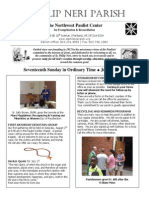 Bulletin for July 27, 2014
