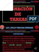 Asignacion de Tareas-Investigacion Operativa-julio Vargas Herbas