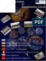 """The common final product of the Comenius partnership """"From Icarus to Interplanetary travels"""""""