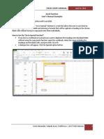 Excel Manual-Final Draft