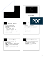 (3) Processes
