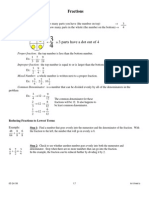 Placement Test Arithmetic