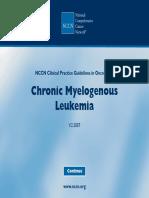 [Ghiduri][Cancer]Chronic Myelogenous Leukemia