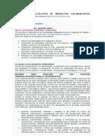 WIKI DE PROYECTOS COLABORATIVOS  Taller Fundación Evolución