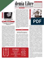 Boletín 156_ Academia Libre del 18 al 24 de Julio de 2014 2