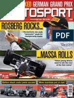 Autosport magazine 24.07.2014.