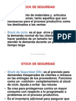 8 Stock de Seguridad