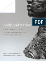Body and Nation by Emily Rosenberg and Shanon Fitzpatrick