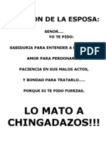 FUNNY ORACION DE LA ESPOSA