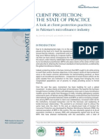 MicroNOTE 23 Client Protection - The State of Practice