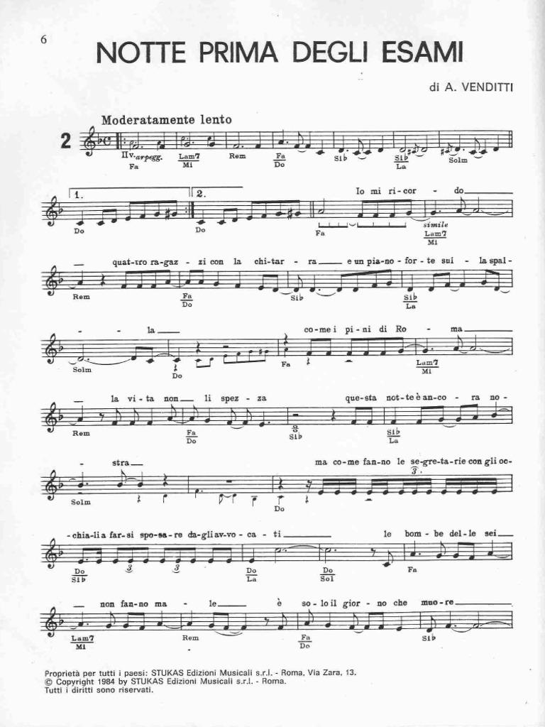 Molto Antonello Venditti - Notte Prima Degli Esami-2 TX61