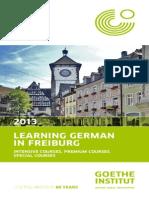 Learning German in Freiburg