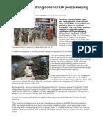 ACHR Against Bangladesh in UN Peace