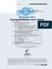 MANUALDEFORMIATOS B11 Compatibilidad Con Lutitas