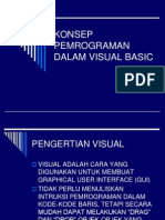13162419 Konsep Pemrograman Dalam Visual Basic