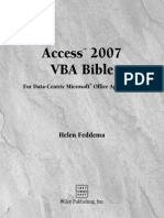 [eBook] Wiley Microsoft Office Access 2007 VBA Bible