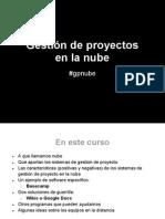 Gestión de Proyectos en La Nube