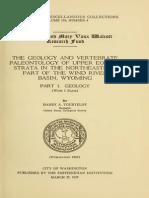 [Paleoshare] Tourtelot H.a. 1957 - The Geology and Vertebrate Paleontology of Upper Eocene Strata in the NE Part of the Wind River Basin, Wyoming