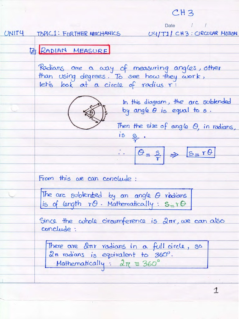 physics notes circular motion Robert katz publications research papers in physics and astronomy 1-1958 physics, chapter 6: circular motion and gravitation henry semat city college of new york .