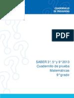 Matematicas 9° 2013