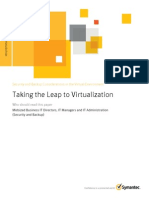Taking the Leapto Virtualization 06.11
