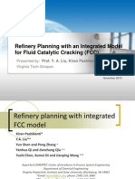 Refinery Planning with an Integrated Model for Fluid Catalytic Cracking (FCC)