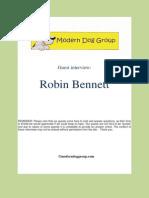 Robin Bennett Interview
