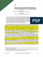 Greene and Bogo - Assessment of Violence