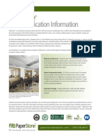 Ps Leed Certification Information 063010