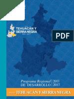 Programa Región Tehuacan Sierranegra