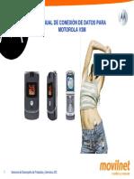 Manual Conexion Datos Motorola v3m