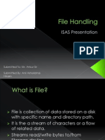 File Handling ppt GNIIT