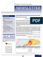 AOAC Food Allergen Community Summer Newsletter 2014