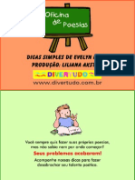 Oficina de Poesia Para Crianças