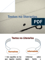 Textos No Literarios