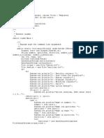 Menu de Manejo de Archivos en Java