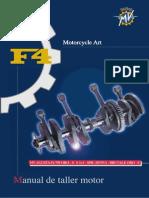 10.-Manual Taller Motor - f4 750 (Español)