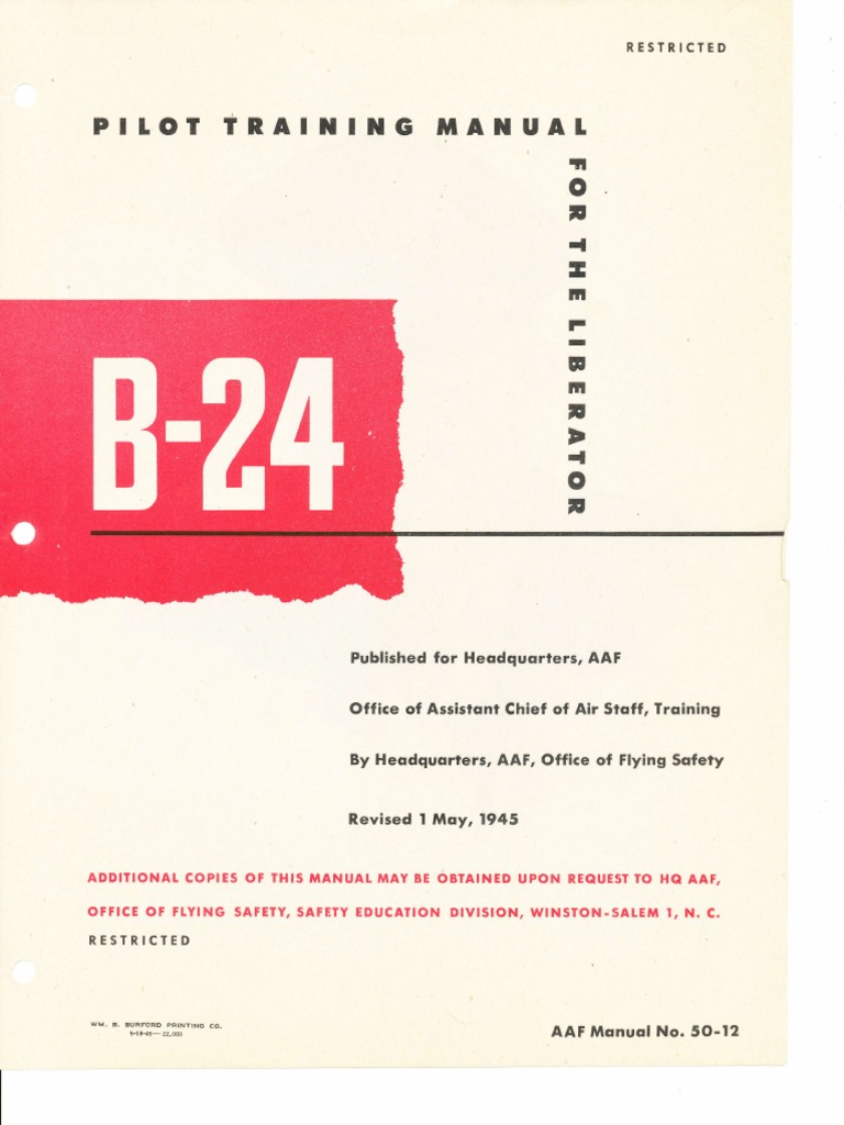 Fuse Box Chart Q0c 30u Detailed Schematic Diagrams Farm B 24 Pilot Training Manual Navigator Consolidated Liberator