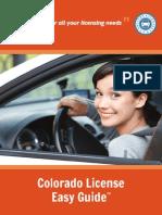 Checklist Renew Drivers License Colorado