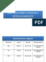 Instrucciones Logicas y Desplazamiento
