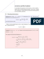 Chapter 9 Differential Vector Calculus