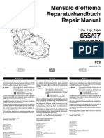782463-1997 Aprilia Pegaso 655 Motorcycle Engine Repair Manual