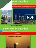 A actividade Industrial e o desenvolvimento social e económico