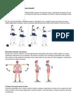 exercicios braço, pernas
