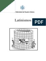 Bachillerato1 Latin Latinismos 1