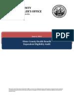 7.22.2104.Health Benefit Dependent Eligibility Audit