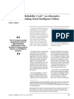 """Managing the """"Reliability Cycle"""""""
