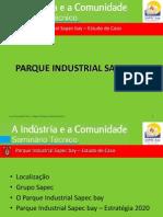Parque Industrial Sapec bay – Estudo de Caso