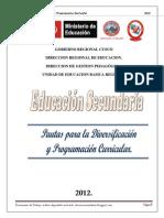 Guia de Diversificacion y Programación Curricular 2012 Final Julio Publicacion